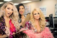 Pistol Annies Take Over the Courthouse in 'Got My Name Changed Back' Video
