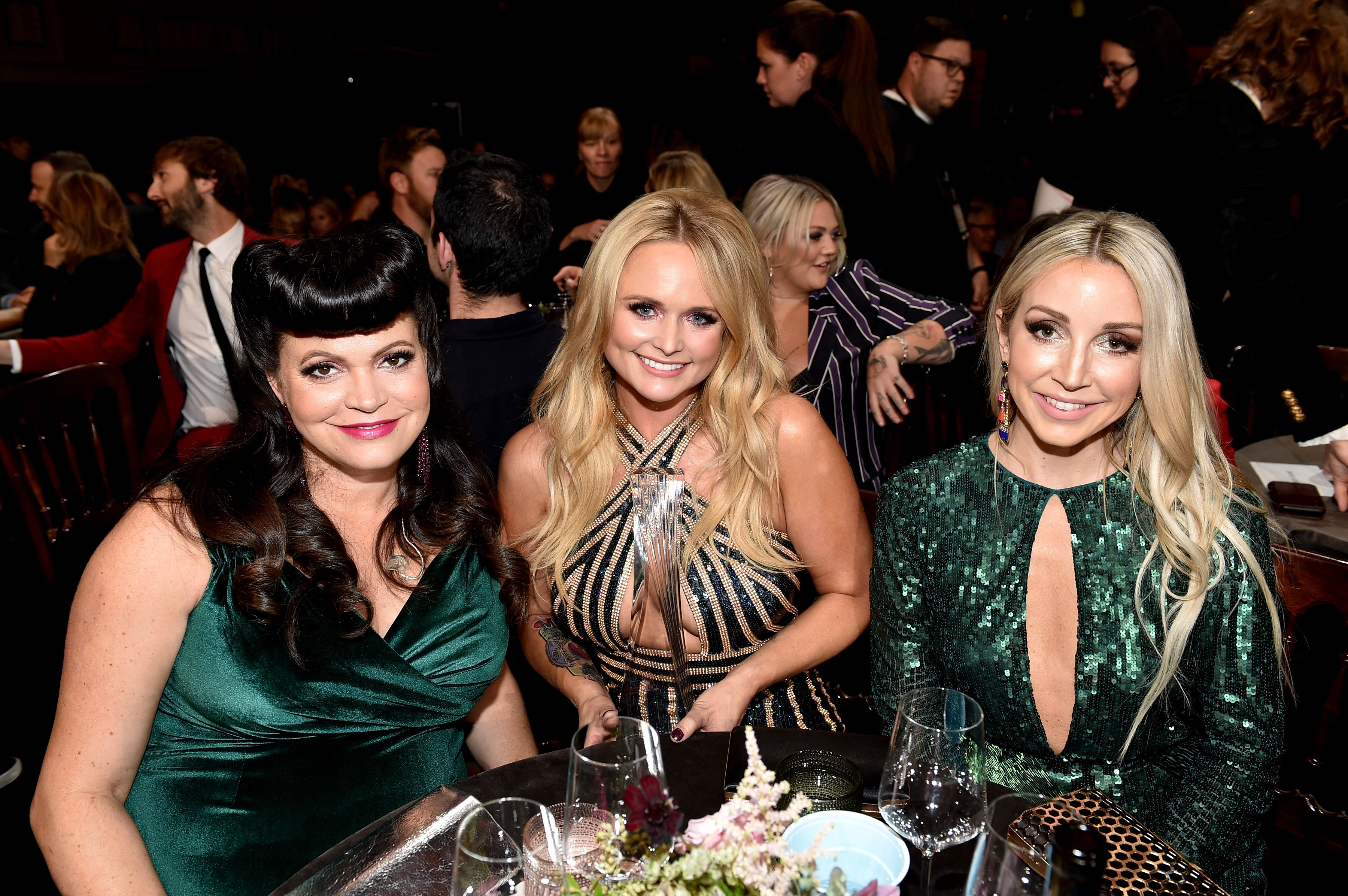 Pistol Annies Commemorate Cmt Artists Of The Year With