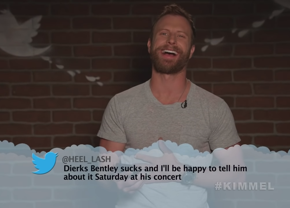 Country Stars Read Mean Tweets For <em>Jimmy Kimmel Live!</em>