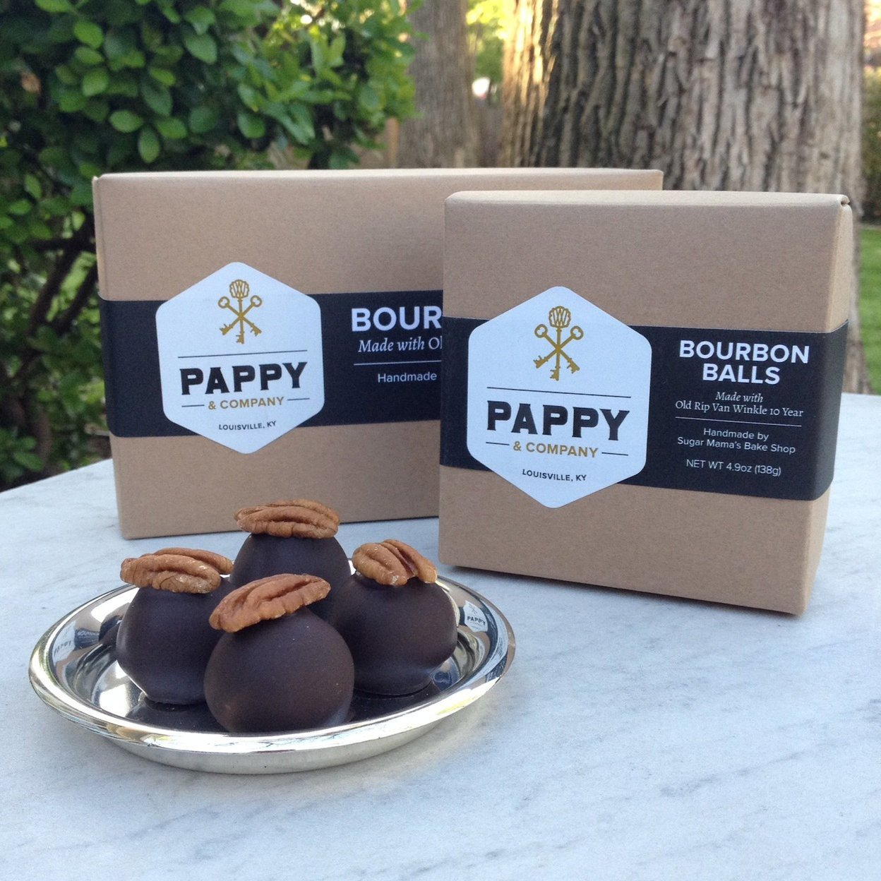 Bourbon Balls Four-Pack; Courtesy of Pappy & Company