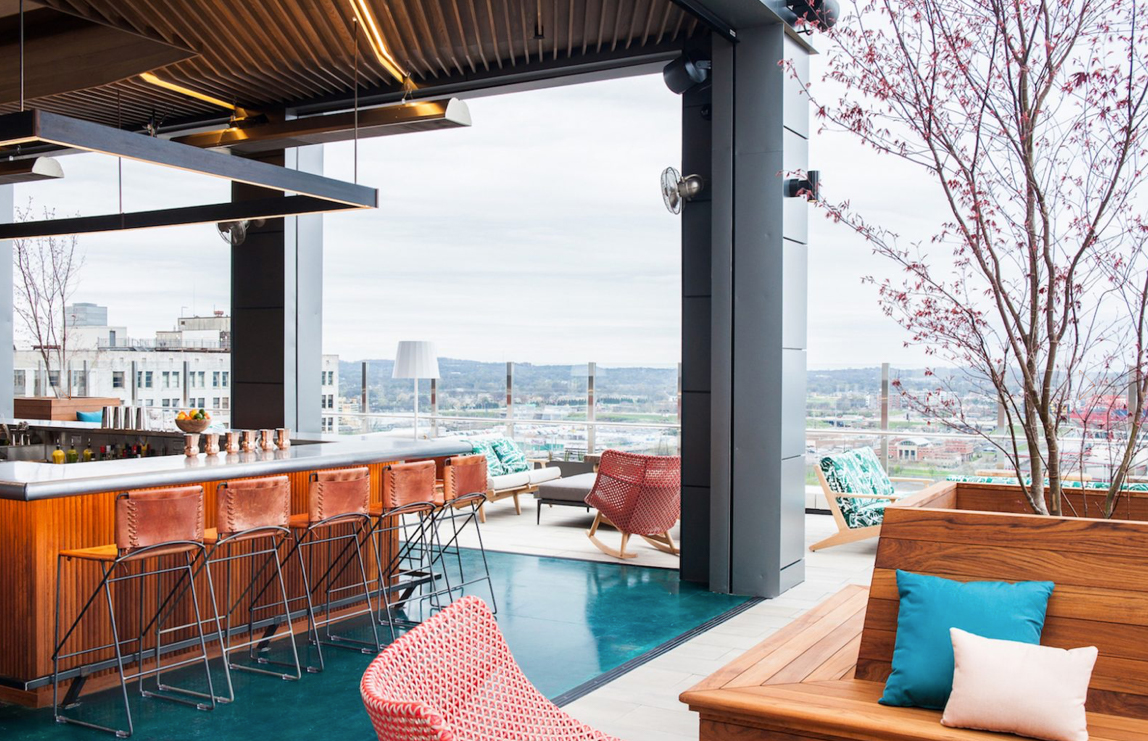 The 5 Downtown Nashville Boutique Hotel Bars and Eateries You Can't Miss