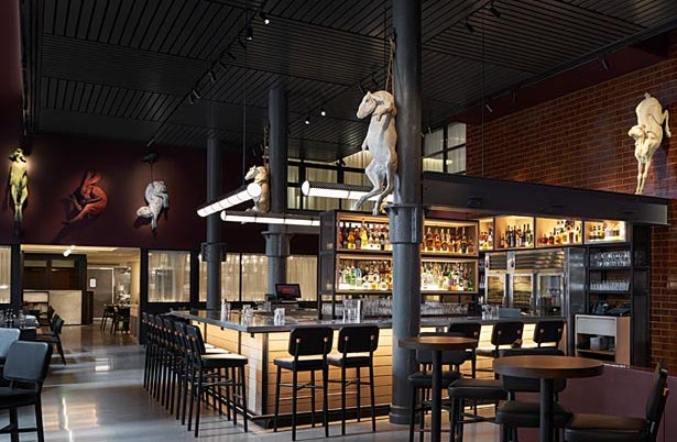 Grey and Dudley restaurant at 21c Hotel in Nashville
