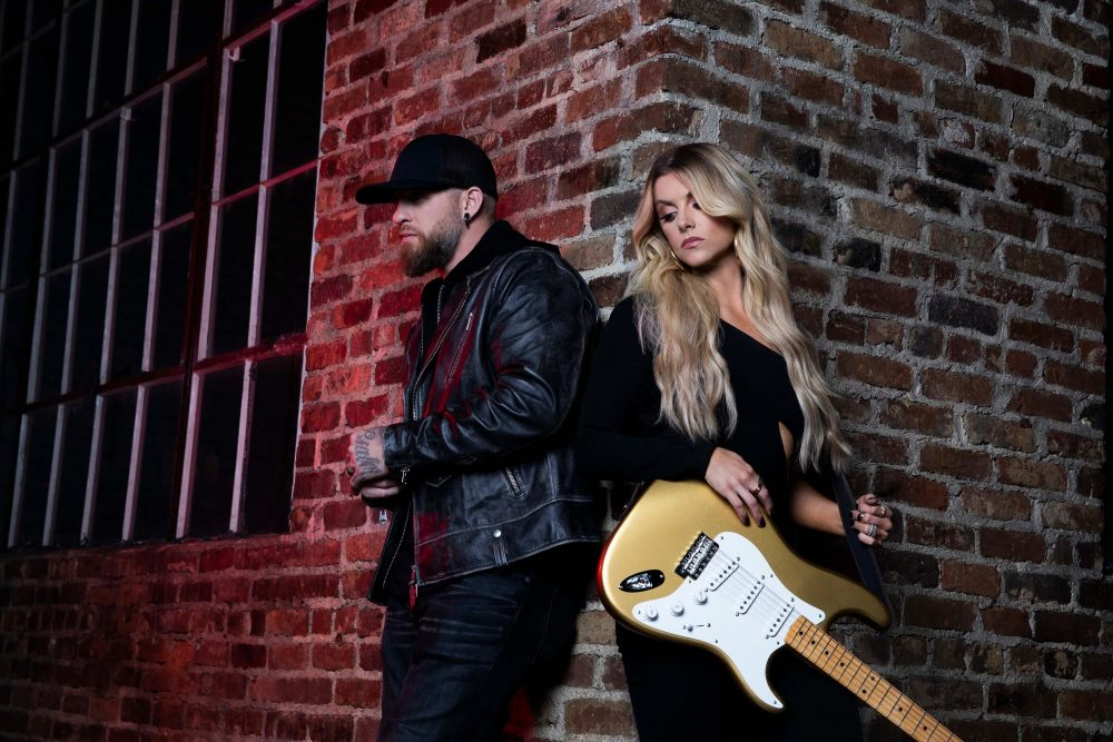 Brantley Gilbert and Lindsay Ell Debut Nostalgic 'What Happens In A Small Town' Video