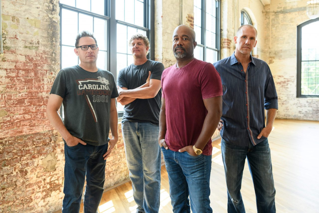 Darius Rucker Reunites with Hootie & The Blowfish for Tour Album