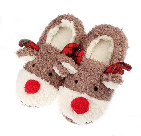 slippers, cozy, holiday, gift