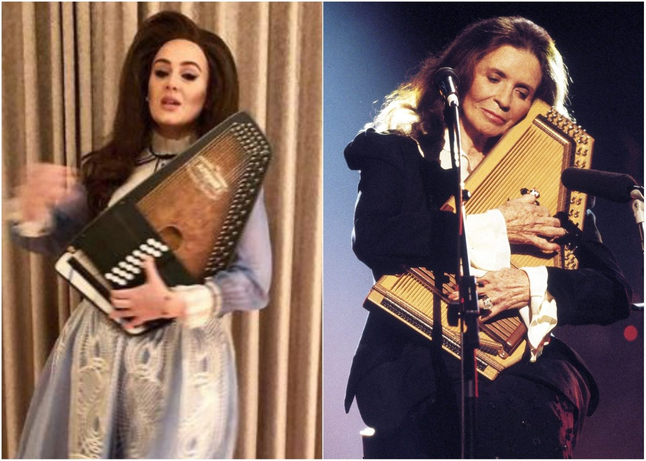 Adele Channels June Carter Cash in New Photo