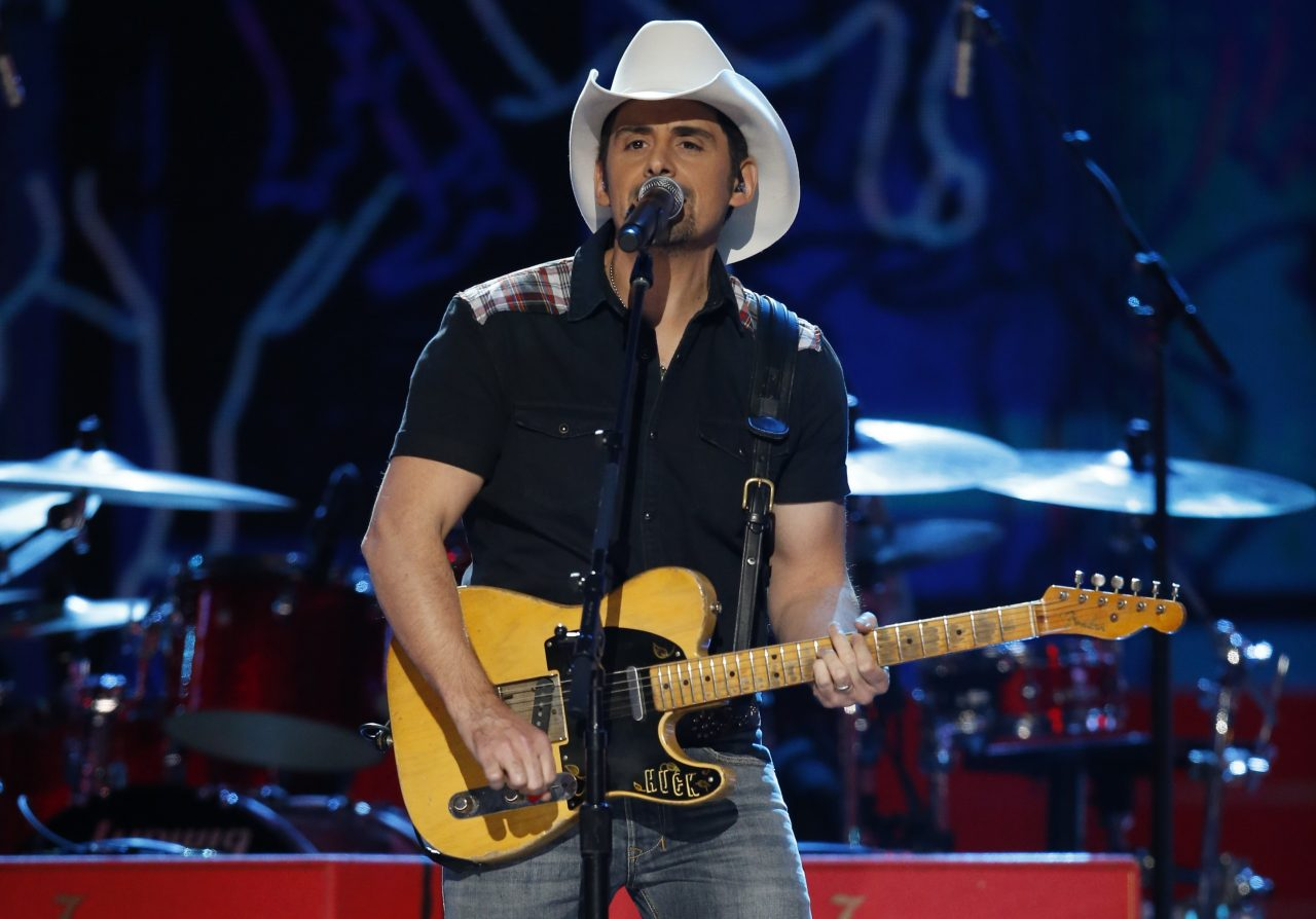 Brad Paisley Gets Rowdy on Broadway in 'Bucked Off' Music Video