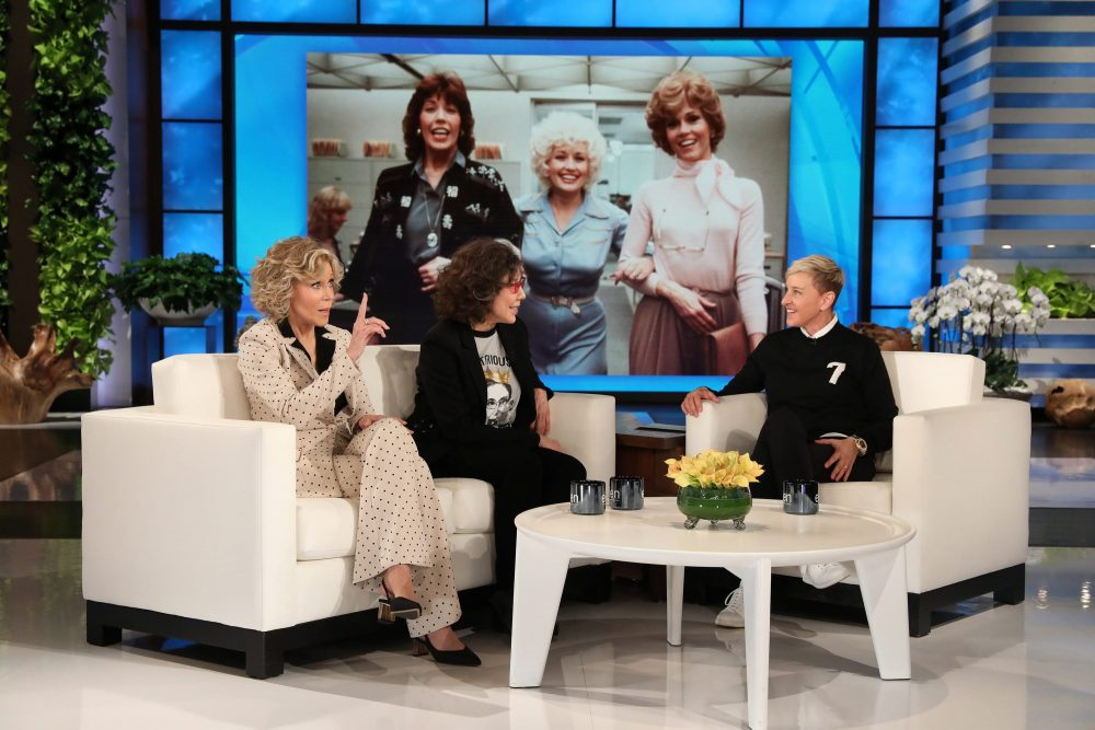 Jane Fonda and Lily Tomlin Give Backstory of How '9 to 5′ Came Together