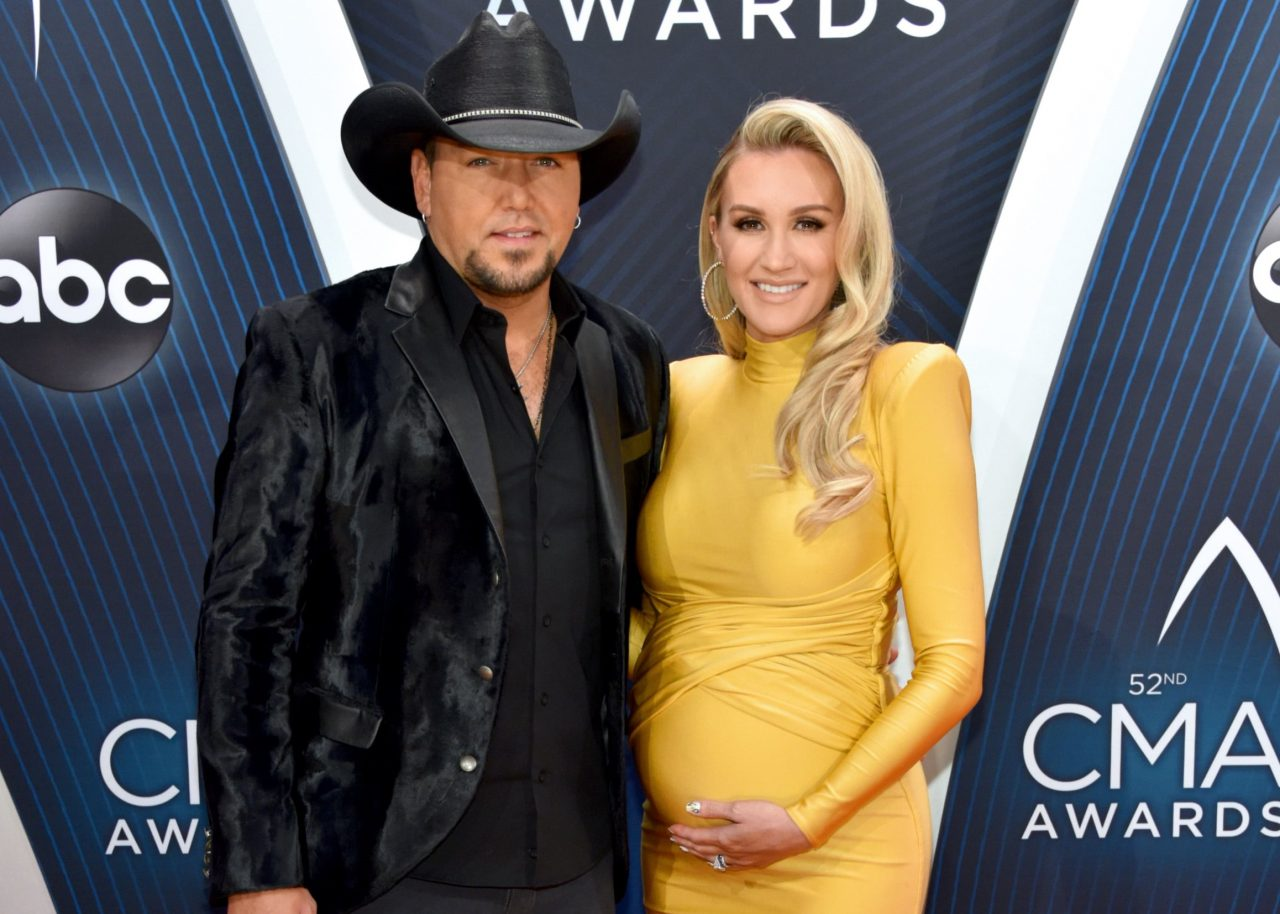 Jason Aldean's Wife Brittany Shares Stunning Maternity Photos