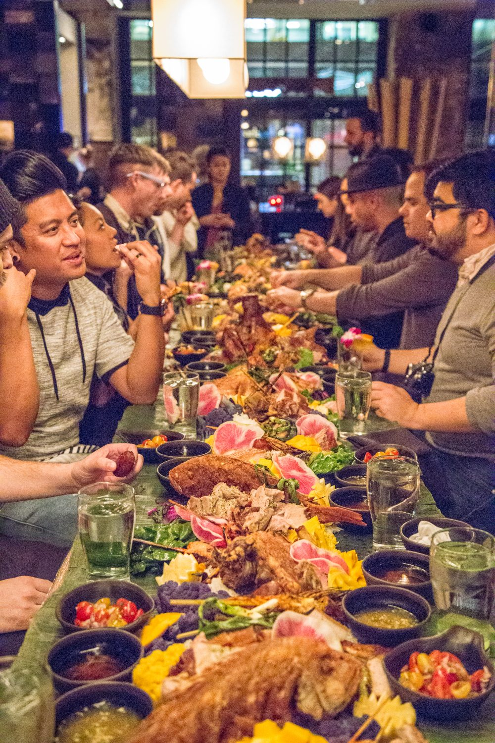 The Kamayan Feast: Head to Nashville's Sunda New Asian for This Exotic Eating Experience
