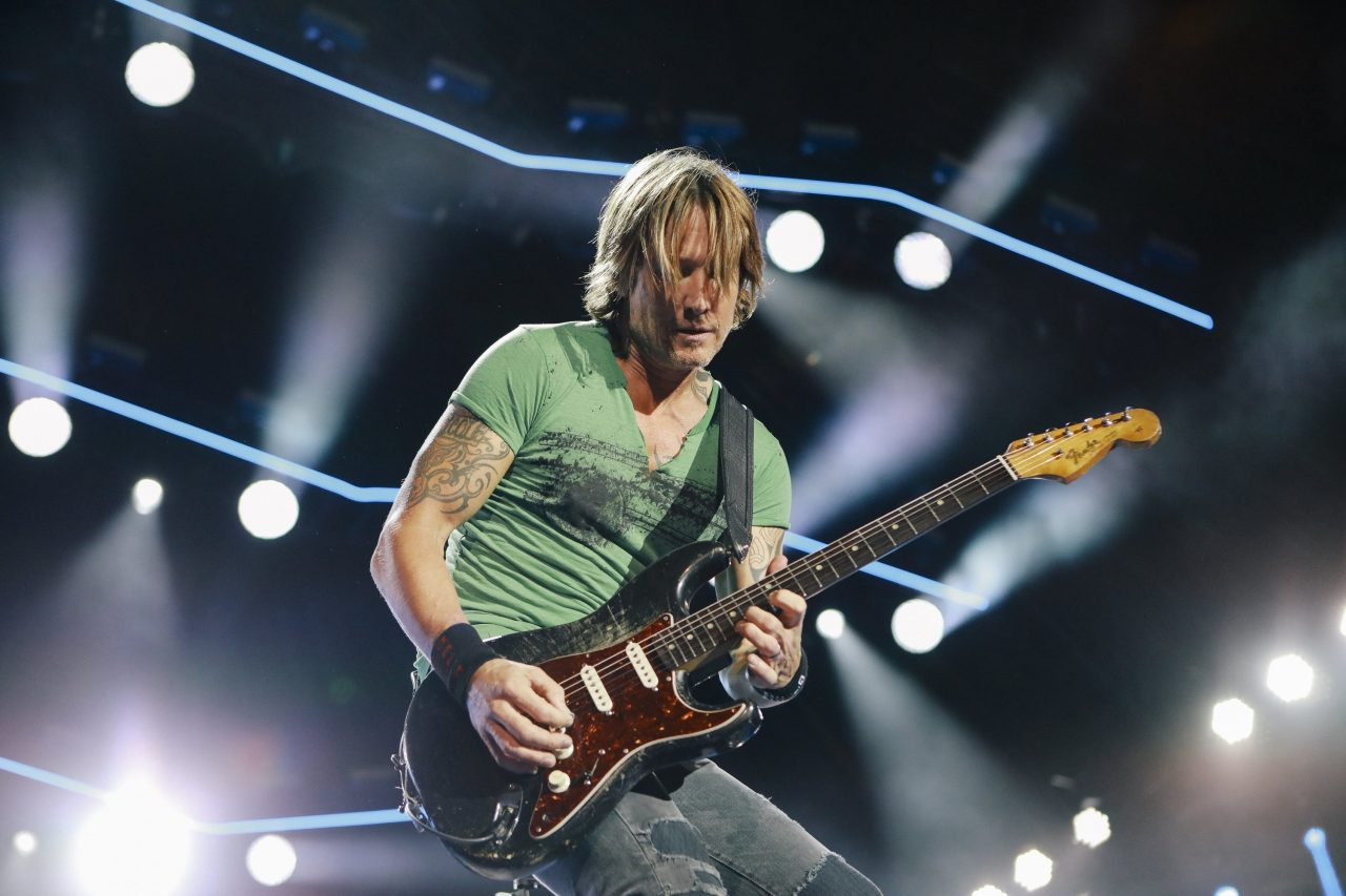 Keith Urban Returns to Headline Nashville's New Year's Eve Celebration