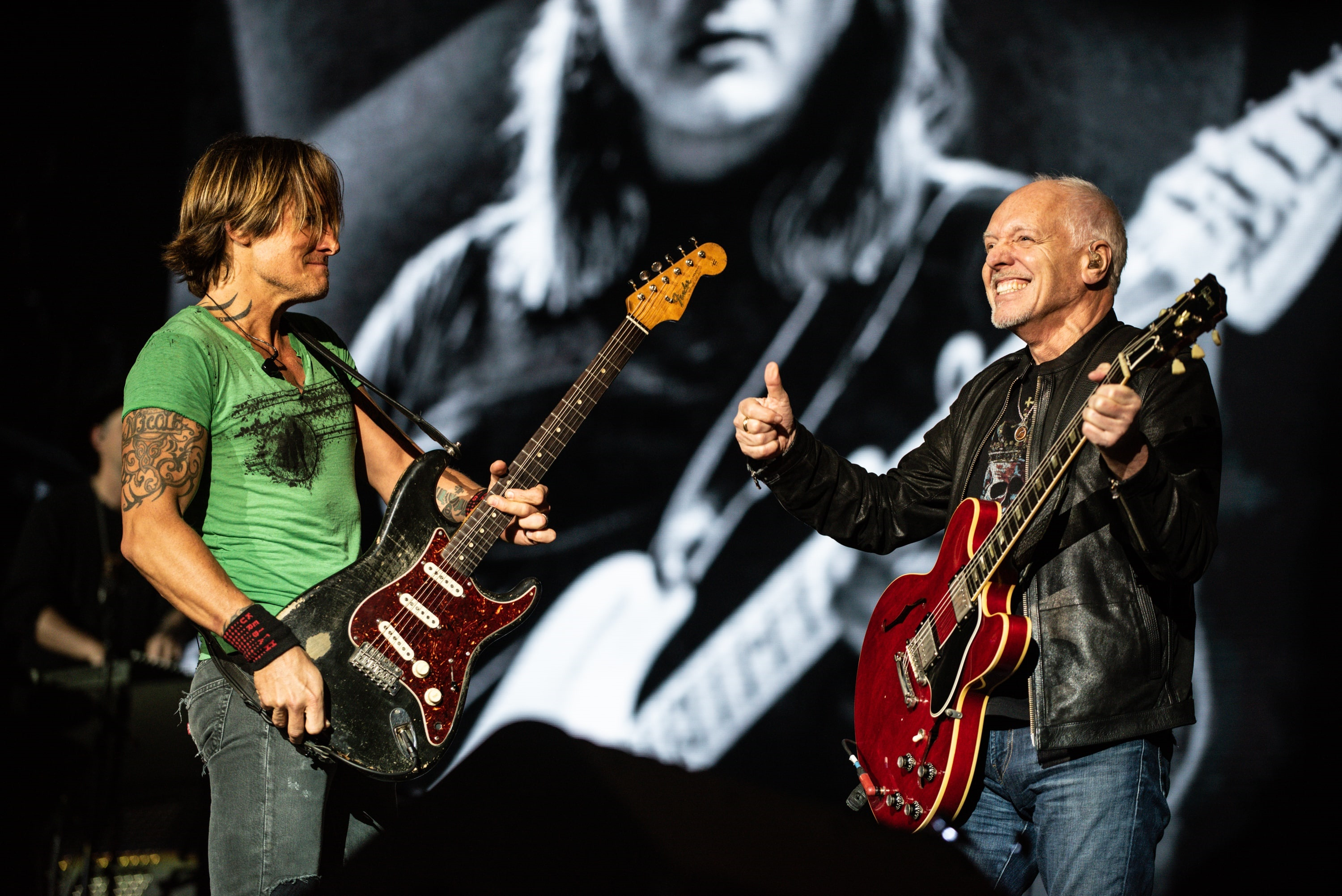 Keith Urban Peter Frampton