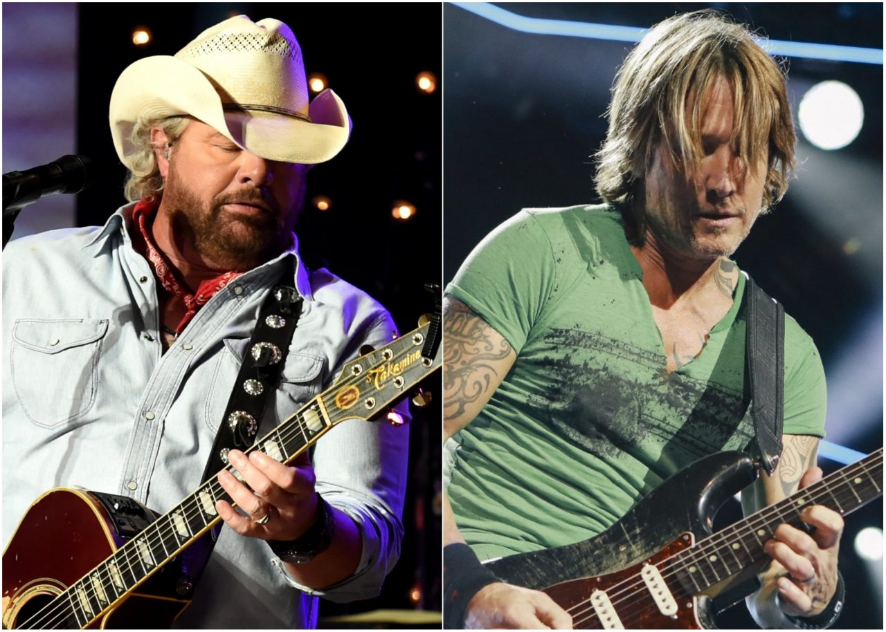 Toby Keith, Keith Urban, Zac Brown Band to Headline Faster Horses Festival