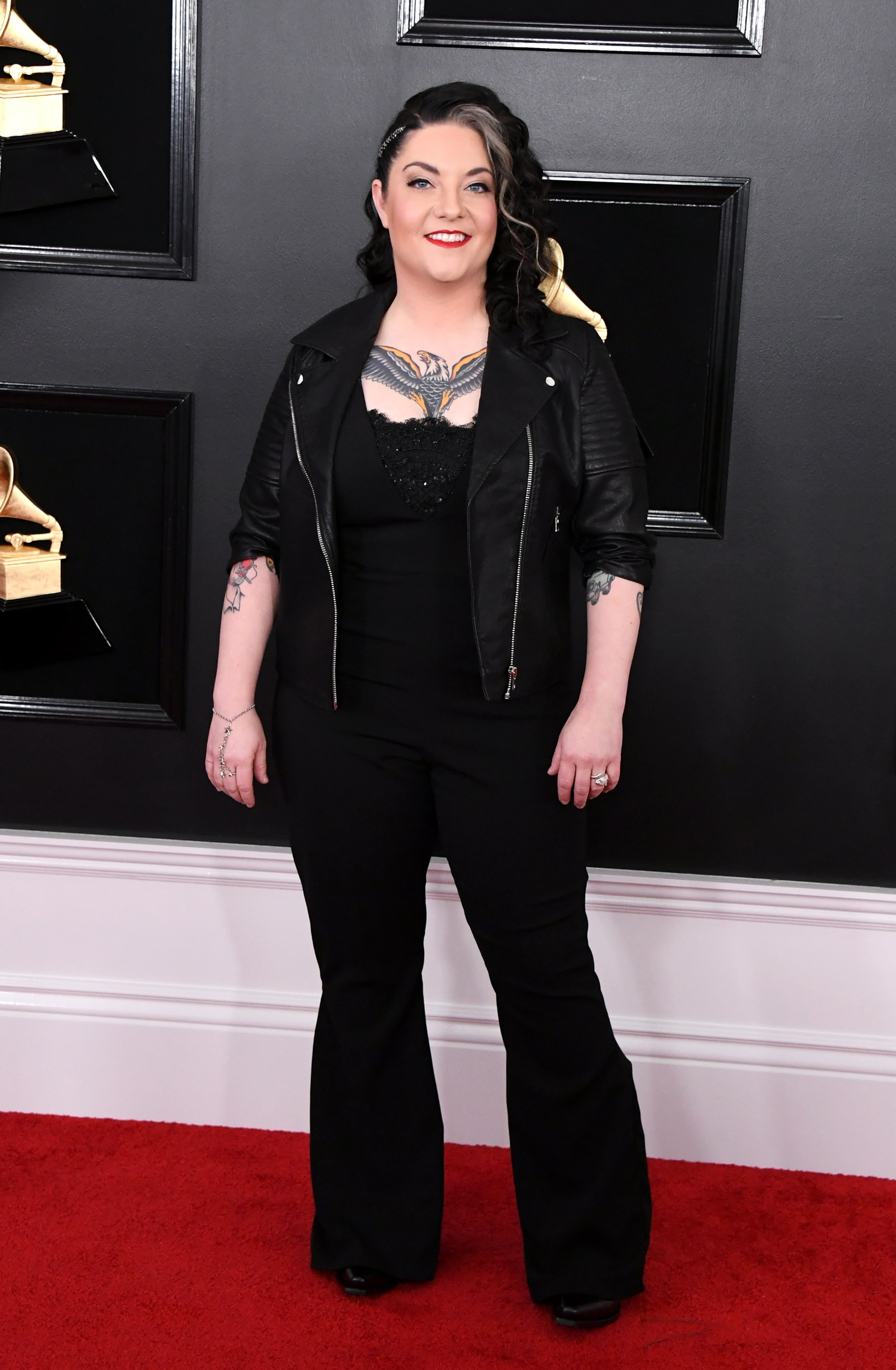 LOS ANGELES, CALIFORNIA - FEBRUARY 10: Ashley McBryde attends the 61st Annual GRAMMY Awards at Staples Center on February 10, 2019 in Los Angeles, California. (Photo by Jon Kopaloff/Getty Images)