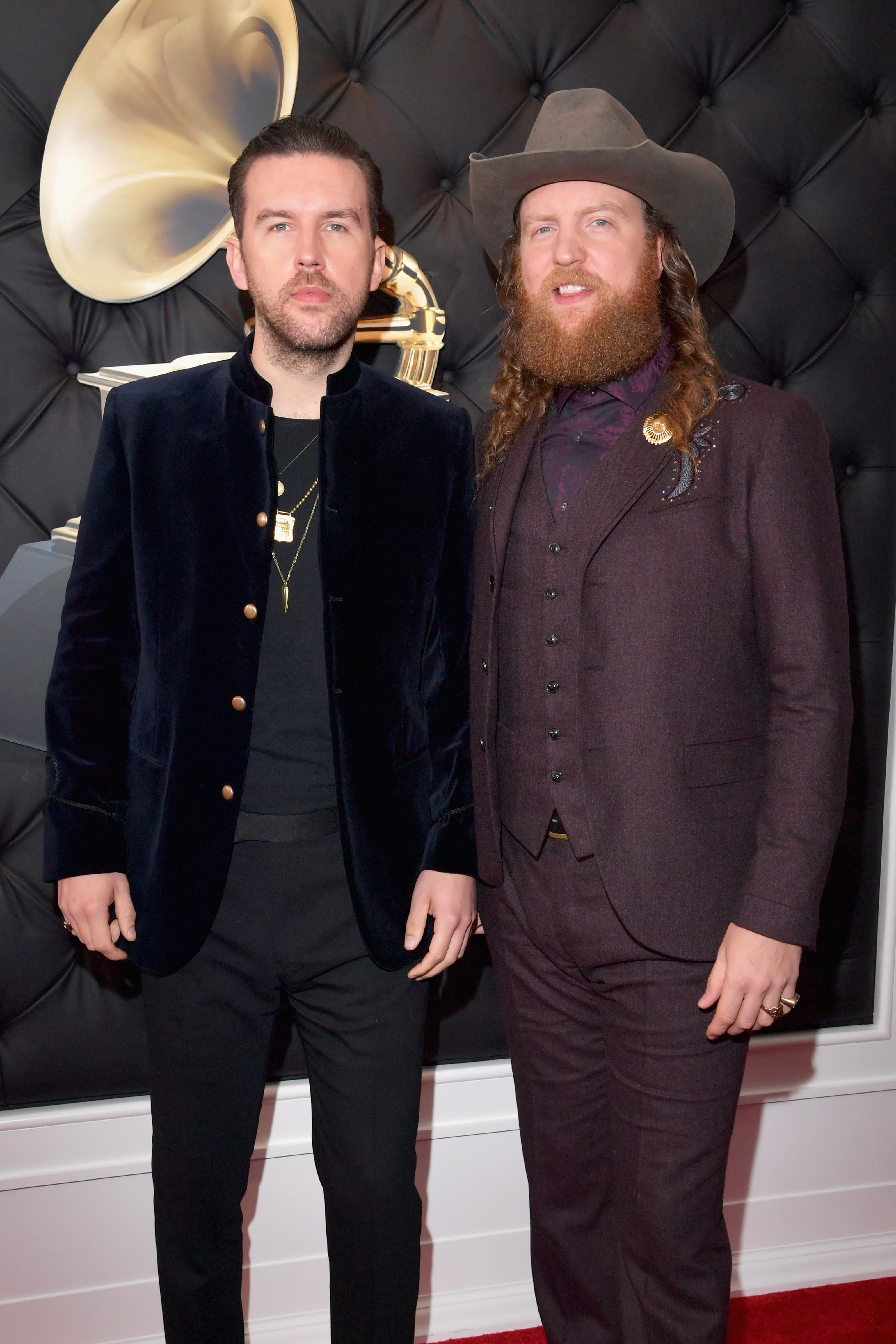 LOS ANGELES, CA - FEBRUARY 10: (L-R) T.J. Osborne and John Osborne of Brothers Osborne attend the 61st Annual GRAMMY Awards at Staples Center on February 10, 2019 in Los Angeles, California. (Photo by Lester Cohen/Getty Images for The Recording Academy)