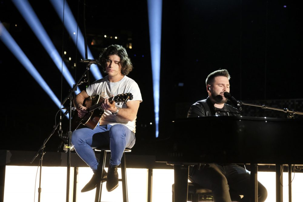 Dan + Shay Leave Couple 'Speechless' With Surprise Wedding Performance