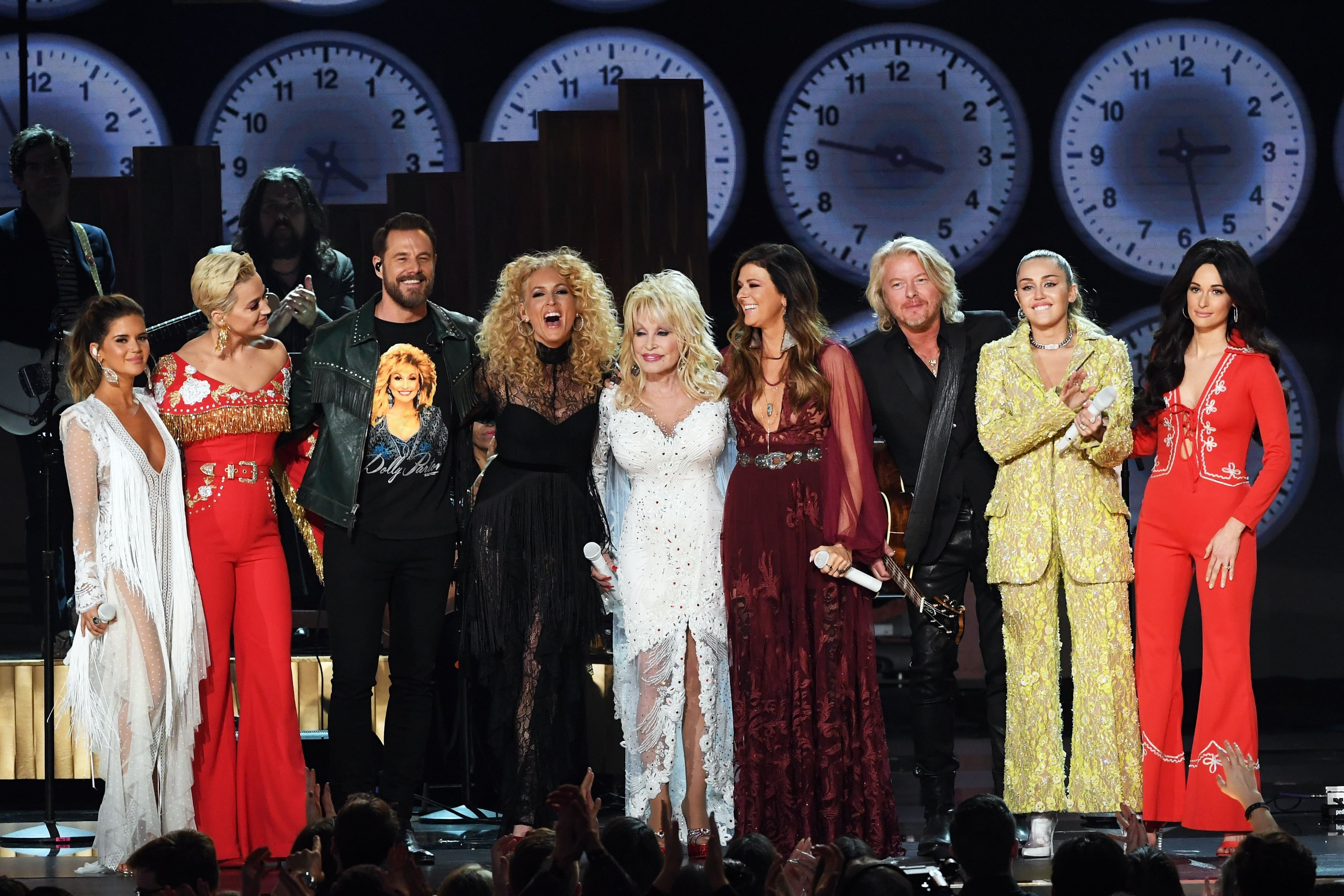 Music S Brightest Stars Pay Tribute To Dolly Parton At The Grammy Awards Sounds Like Nashville