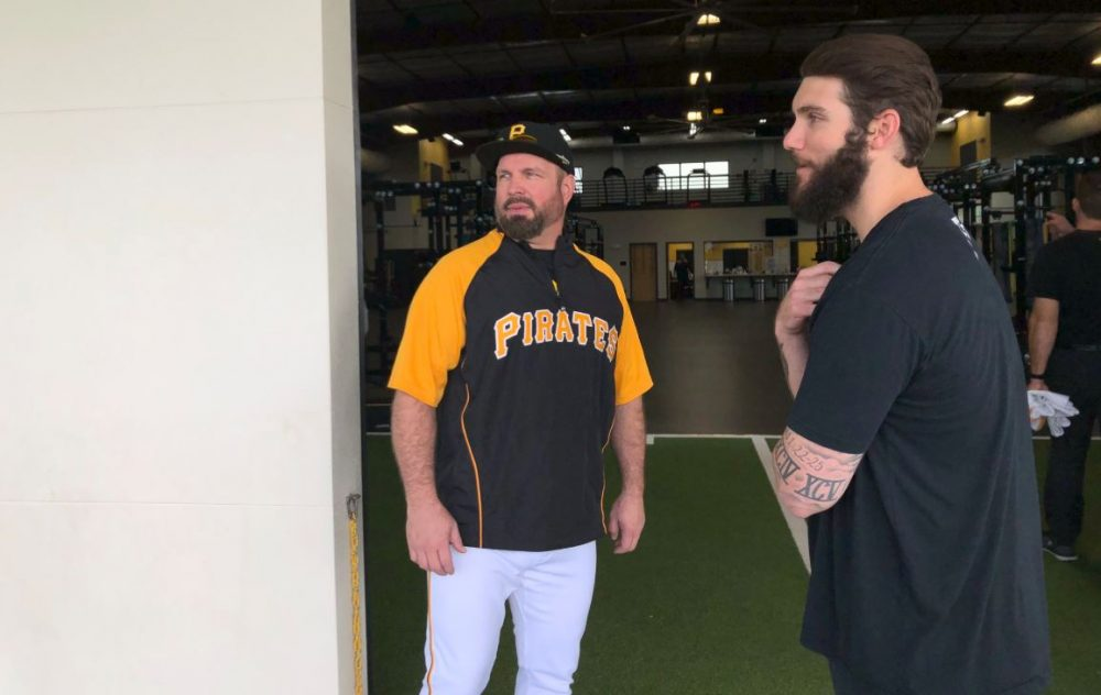 Garth Brooks Signs Major League Baseball Contract With Pittsburgh Pirates