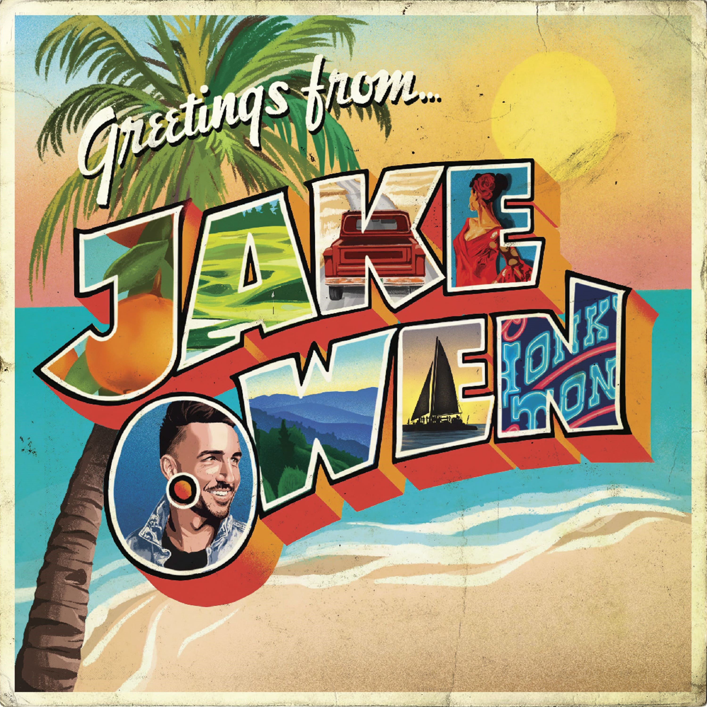 Jake Owen; Cover art courtesy of Big Loud Records
