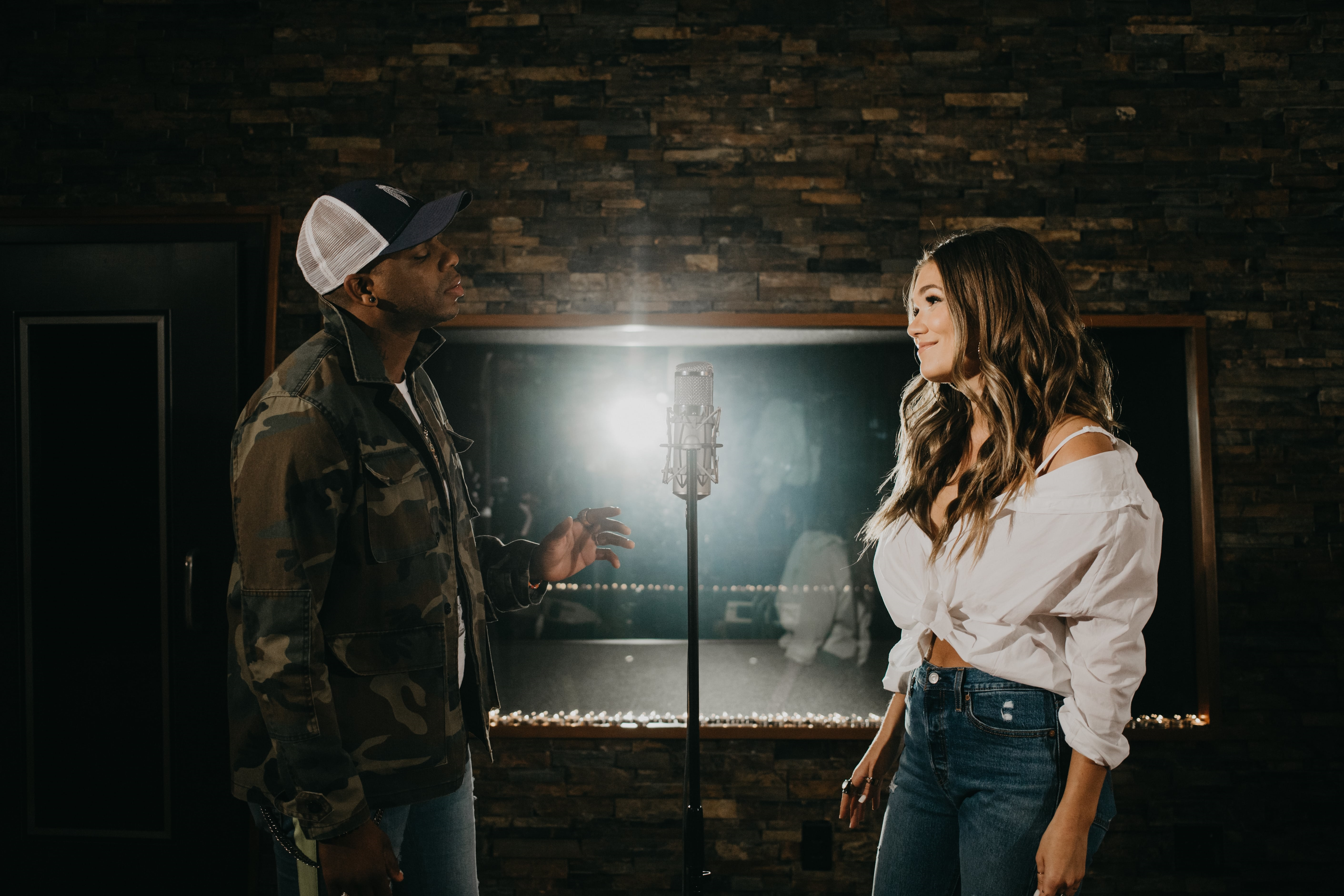 Jimmie Allen and Abby Anderson; Photo Credit: Austin Peckham