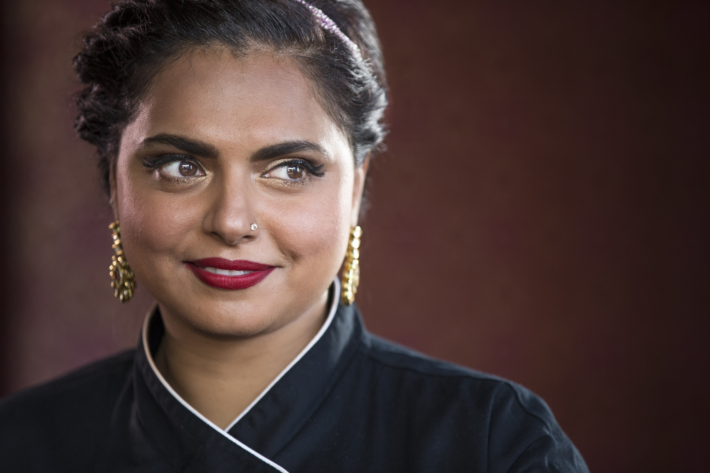 Maneet Chauhan; Photo courtesy of Charleston Wine and Food