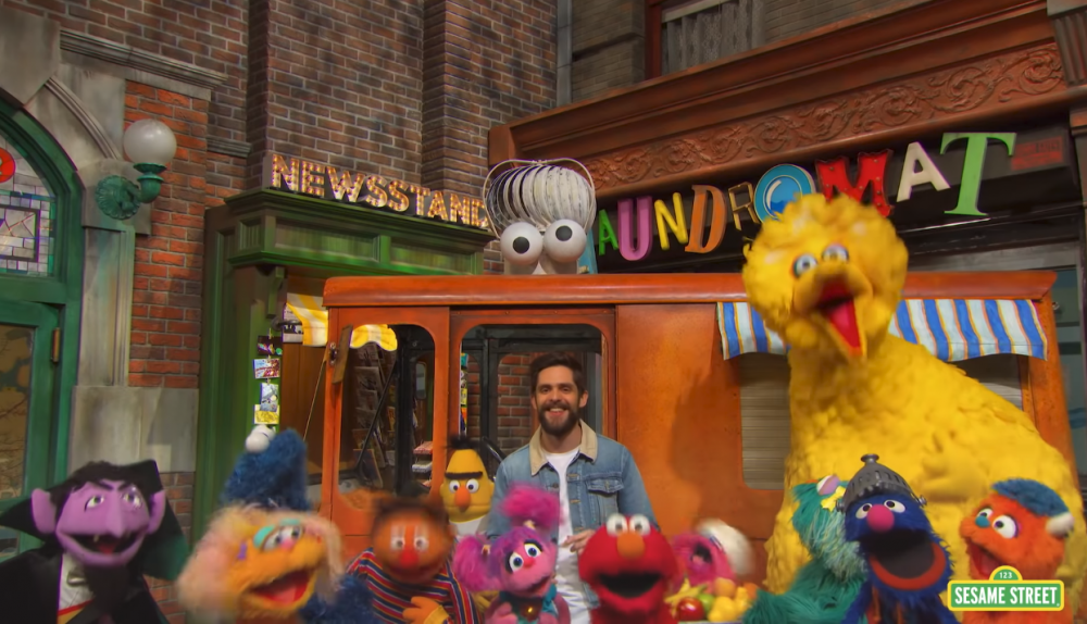 Thomas Rhett Pens 50th Anniversary Anthem for 'Sesame Street'