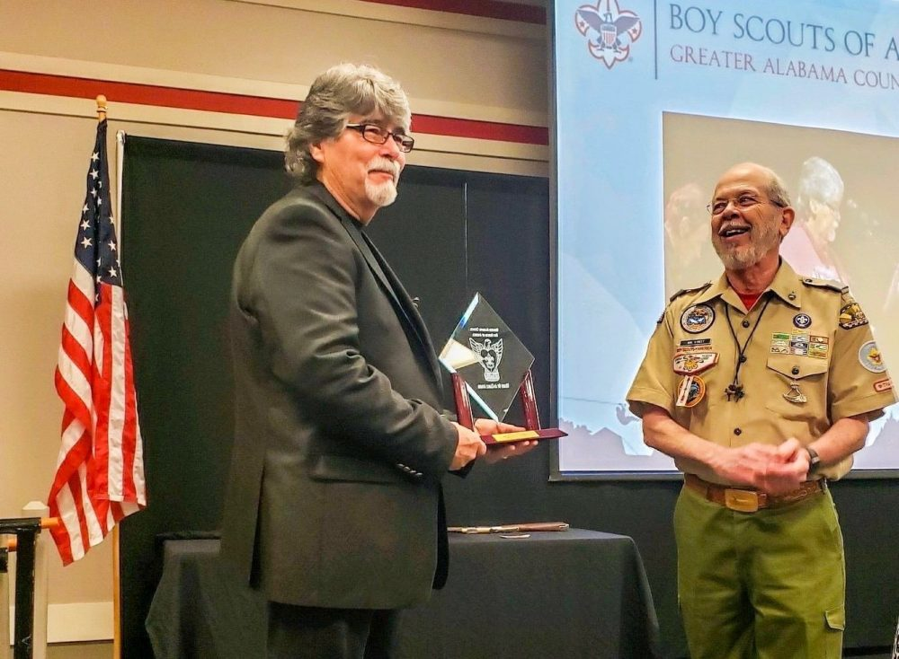 Alabama's Randy Owen Receives Boy Scouts' Heart of an Eagle Award