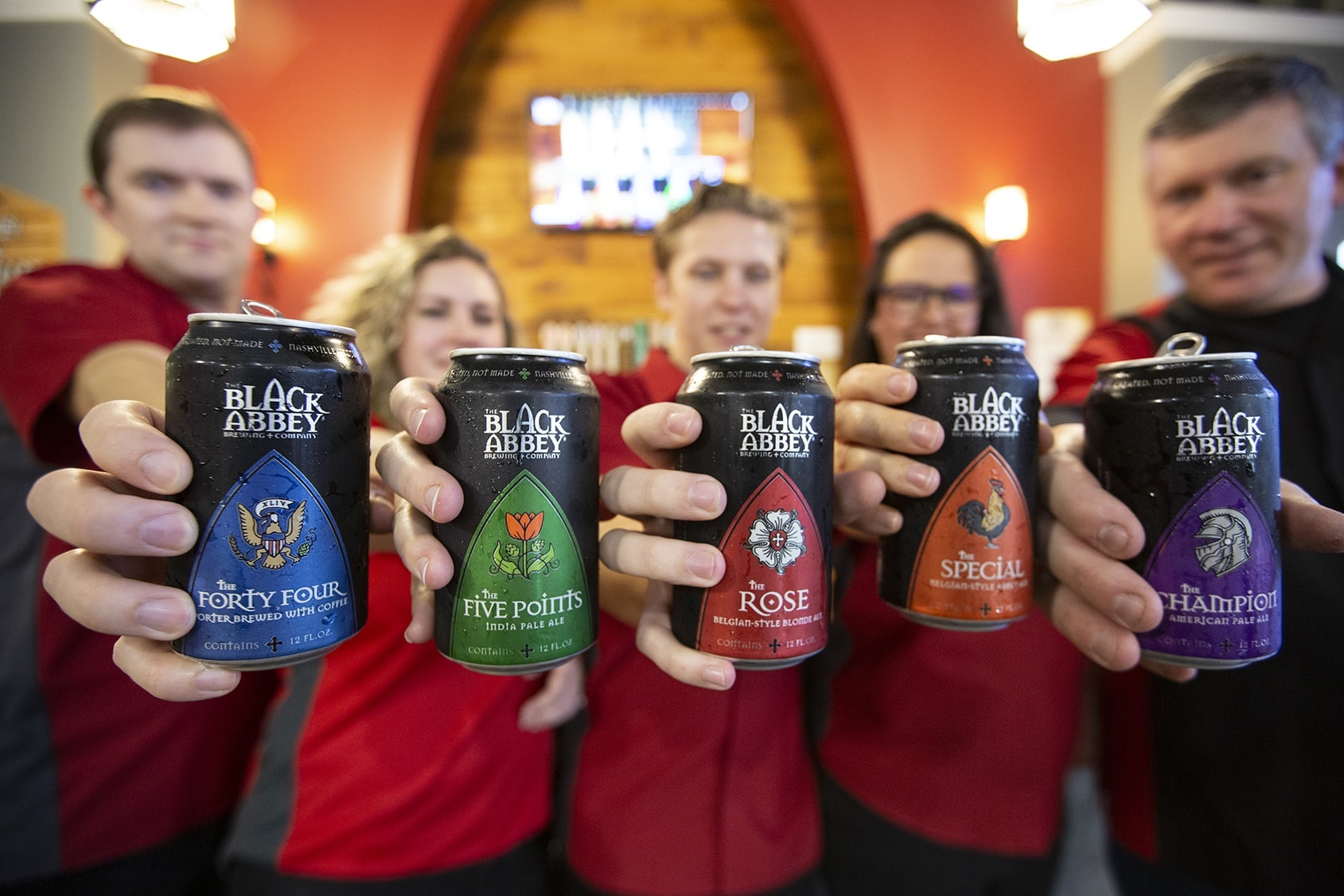 Black Abbey Brewing; Photo credit: Tommy Upson