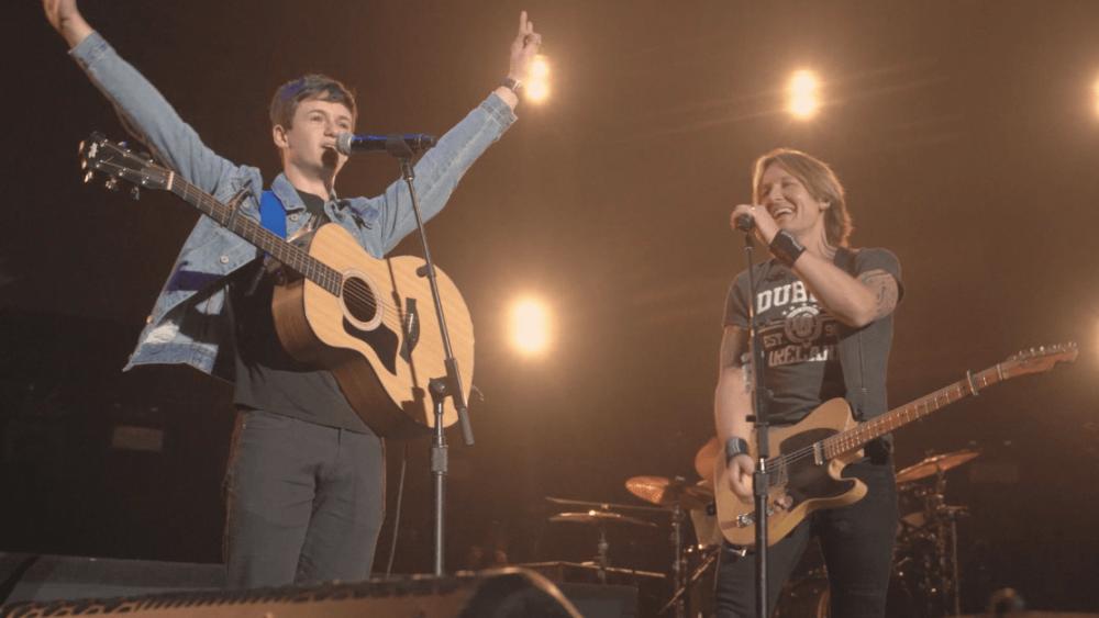 Watch Keith Urban Make an Irish Street Musician's Dreams Come True