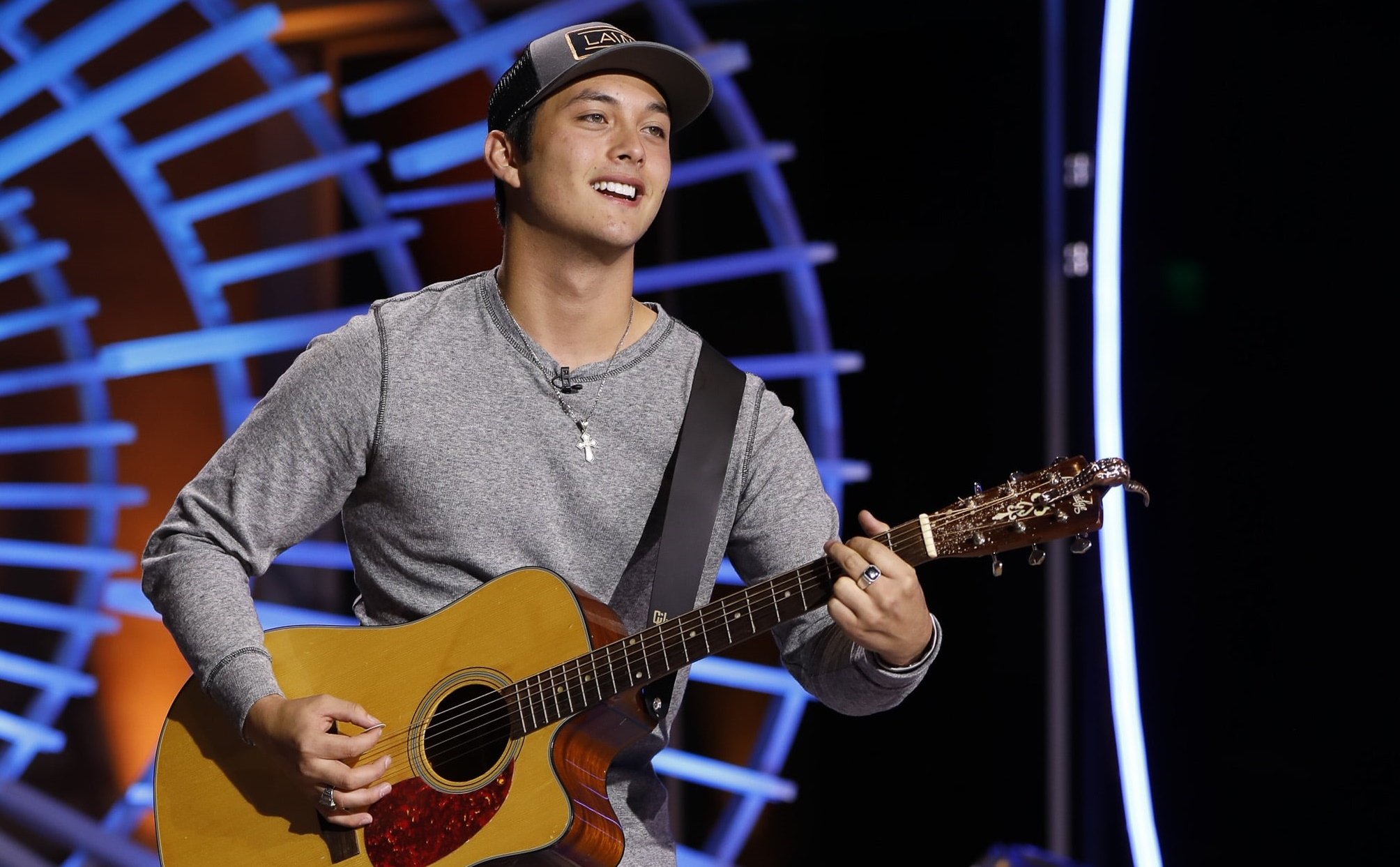 Gay american idol contestant sings in front of parents for first time blows the judges away