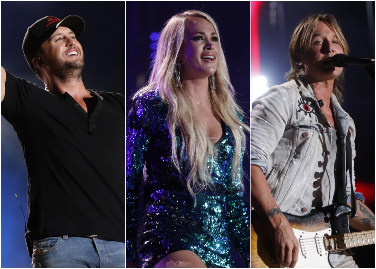 Luke Bryan, Carrie Underwood, Keith Urban and More Lead 2019 CMA Fest Lineup