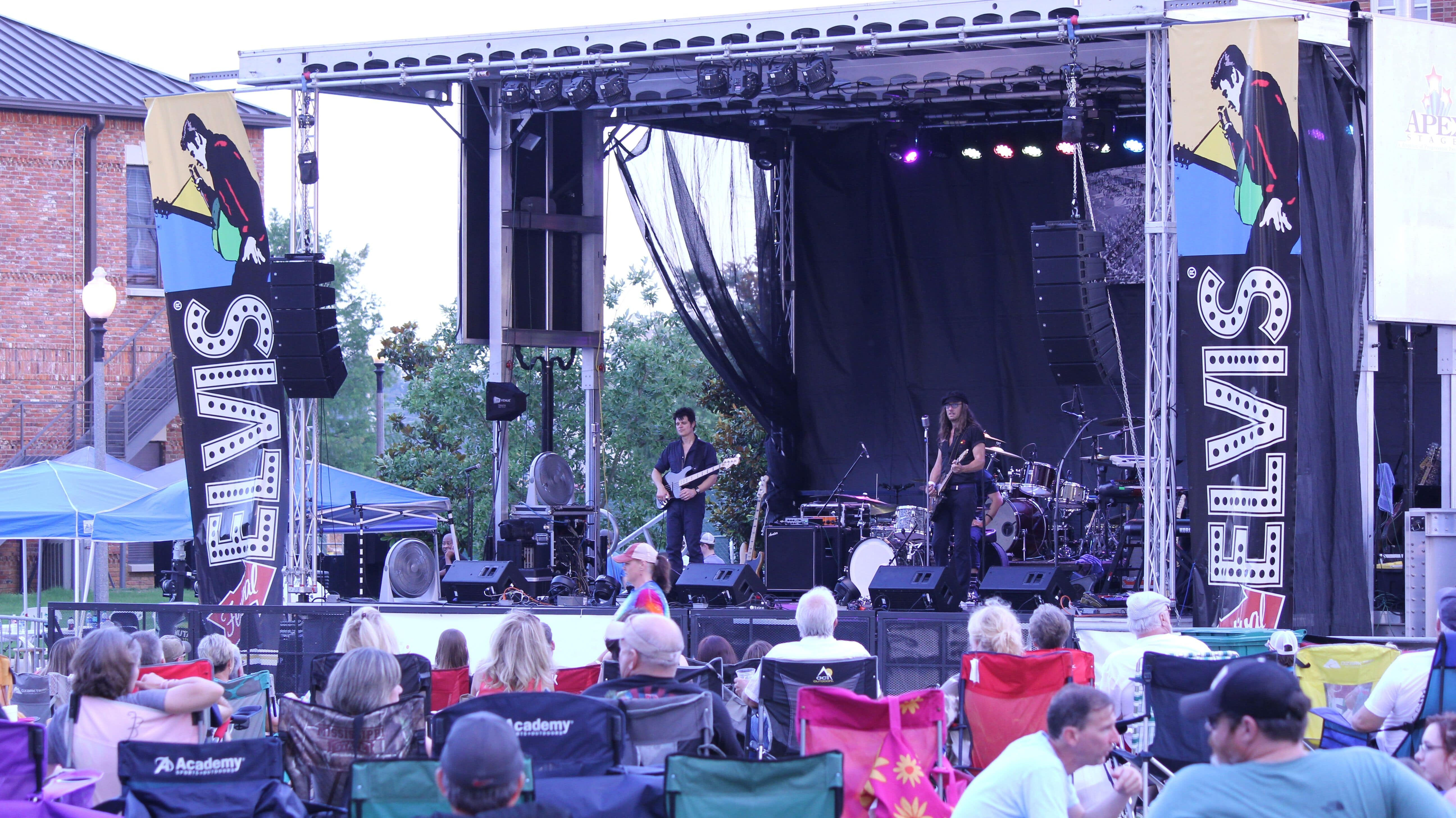 Tupelo Elvis Festival; photo courtesy of Tupelo Convention and Visitor's Bureau
