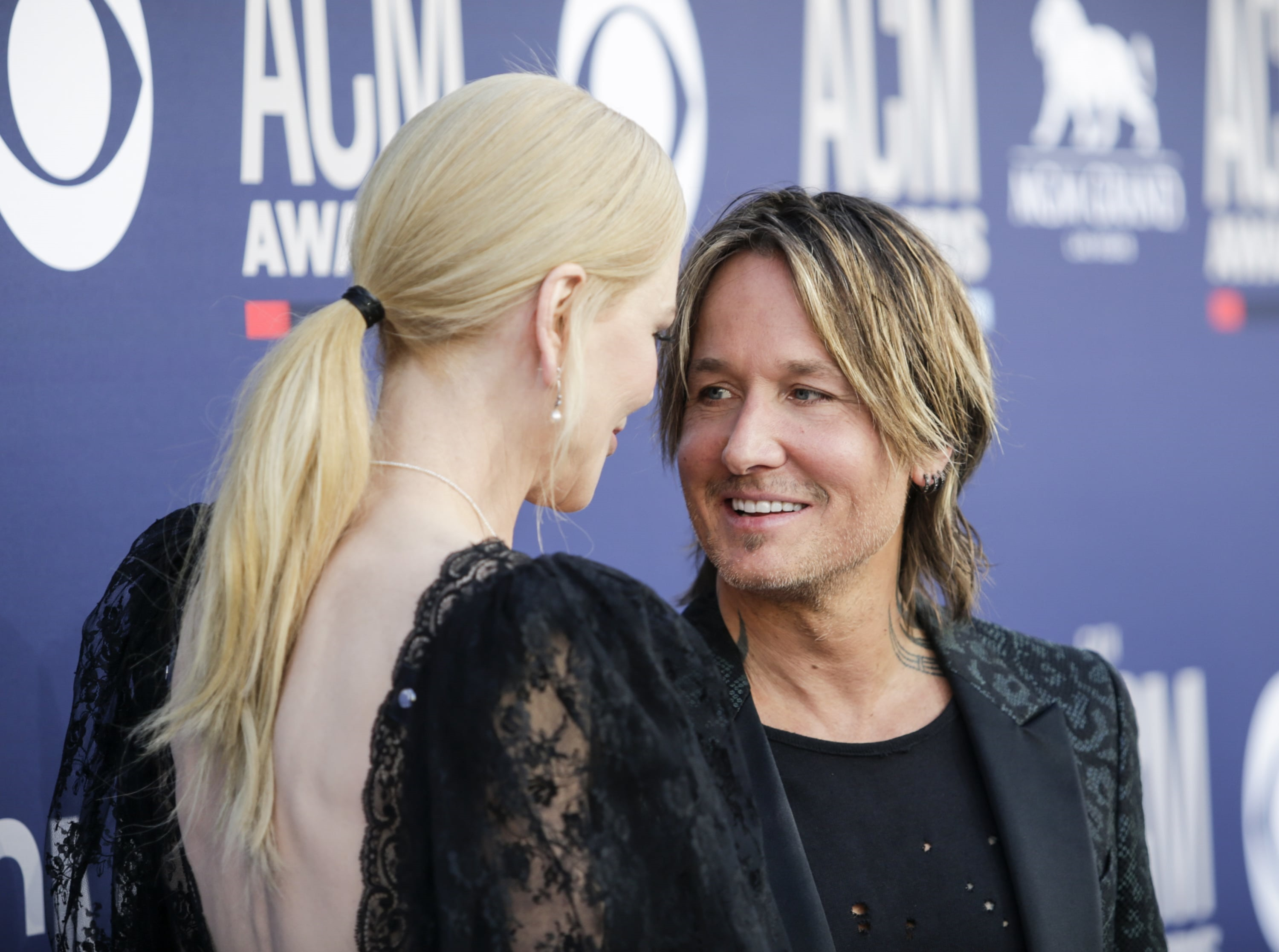Nicole Kidman and Keith Urban attends the 54TH ACADEMY OF COUNTRY MUSIC AWARDS, to broadcast LIVE from MGM Grand Garden Arena in Las Vegas Sunday, April 7, 2019 (8:00-11:00 PM, ET/delayed PT) on the CBS Television Network. Photo: Francis Specker/CBS ©2019 CBS Broadcasting, Inc. All Rights Reserved.