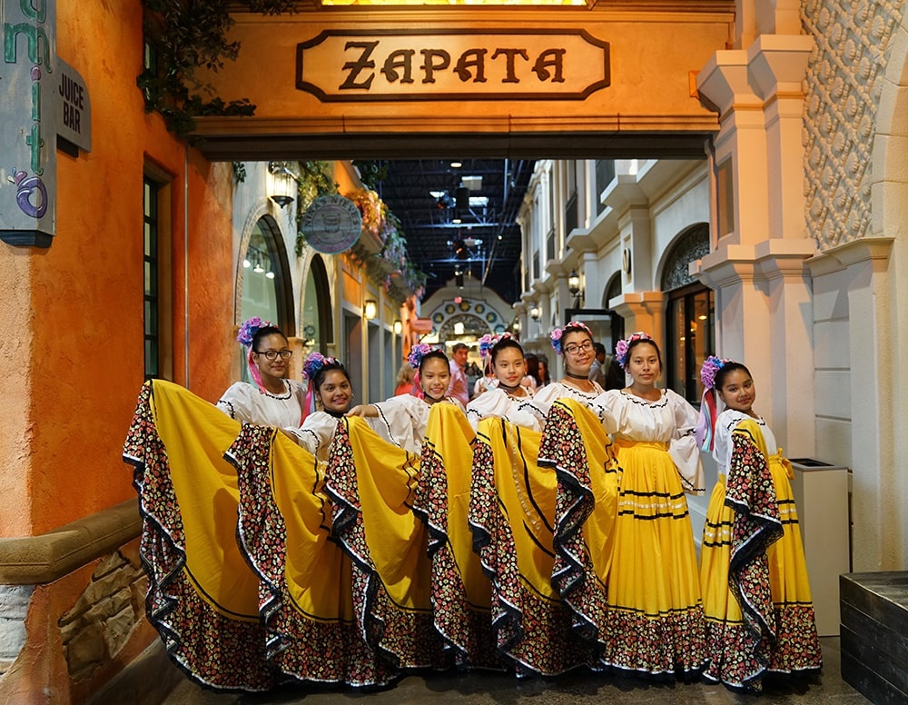 Plaza Mariachi; Photo credit: Plaza Mariachi - Garrett Hestla