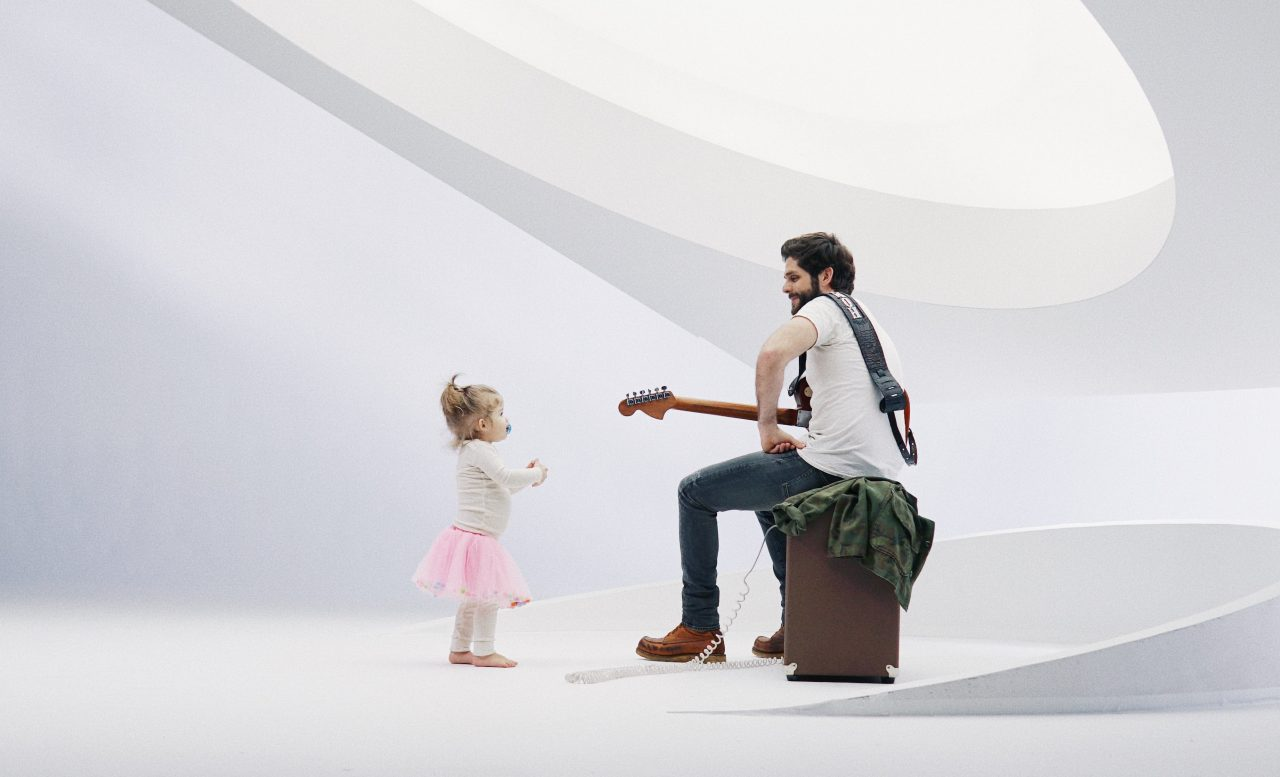 Thomas Rhett Enlists Wife and Daughters for 'Look What God Gave Her' Video