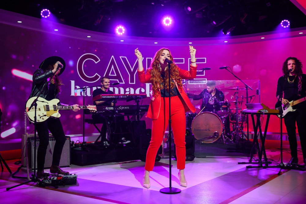 Caylee Hammack Makes National TV Debut with 'Family Tree' Performance