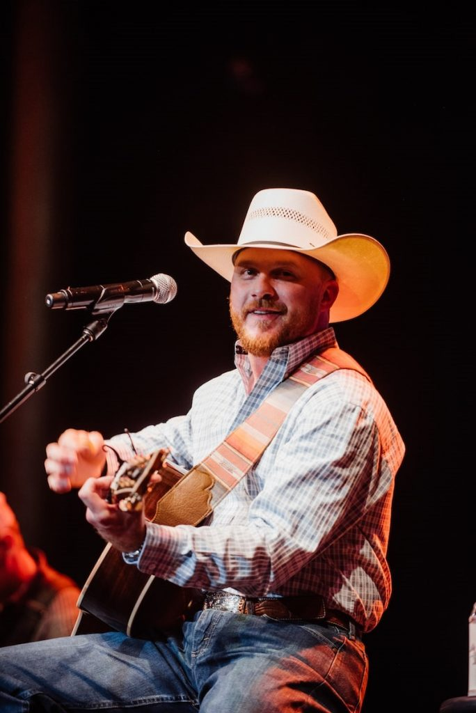 Cody Johnson; Photo courtesy of Live in the Vineyard (2019) Goes Country