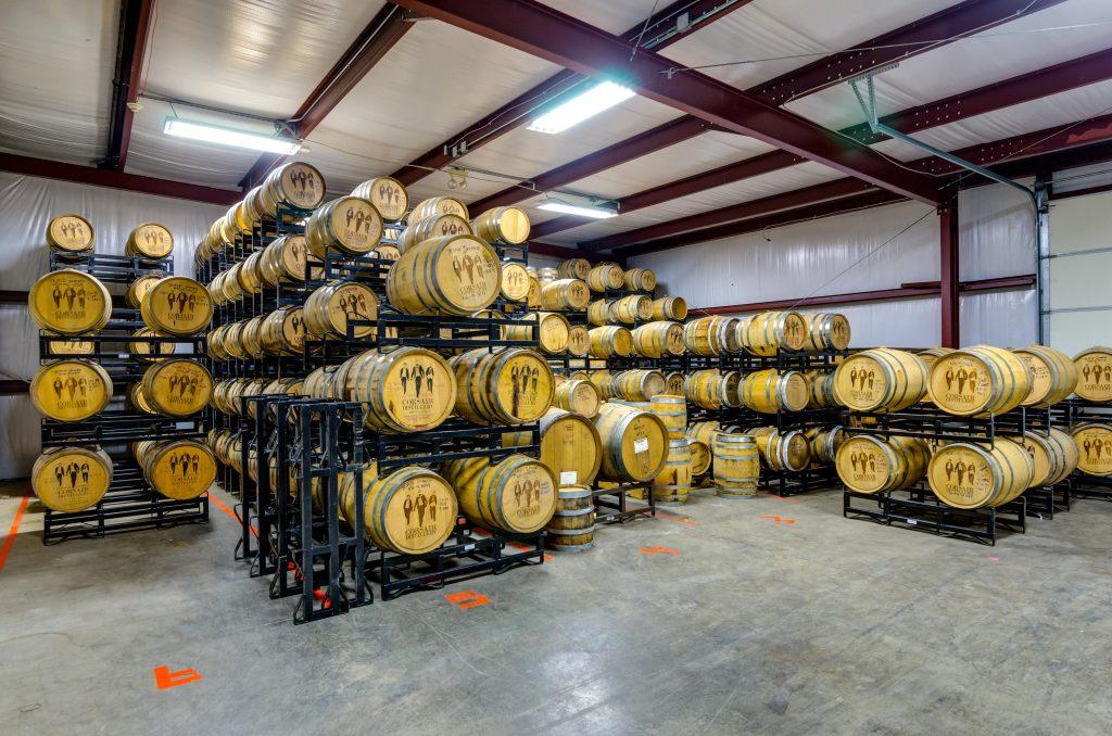 Corsair Distillery; Photo Courtesy of Kerry Woo