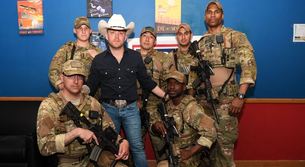 Justin Moore Hopes to Shine a Light On The Military This Memorial Day