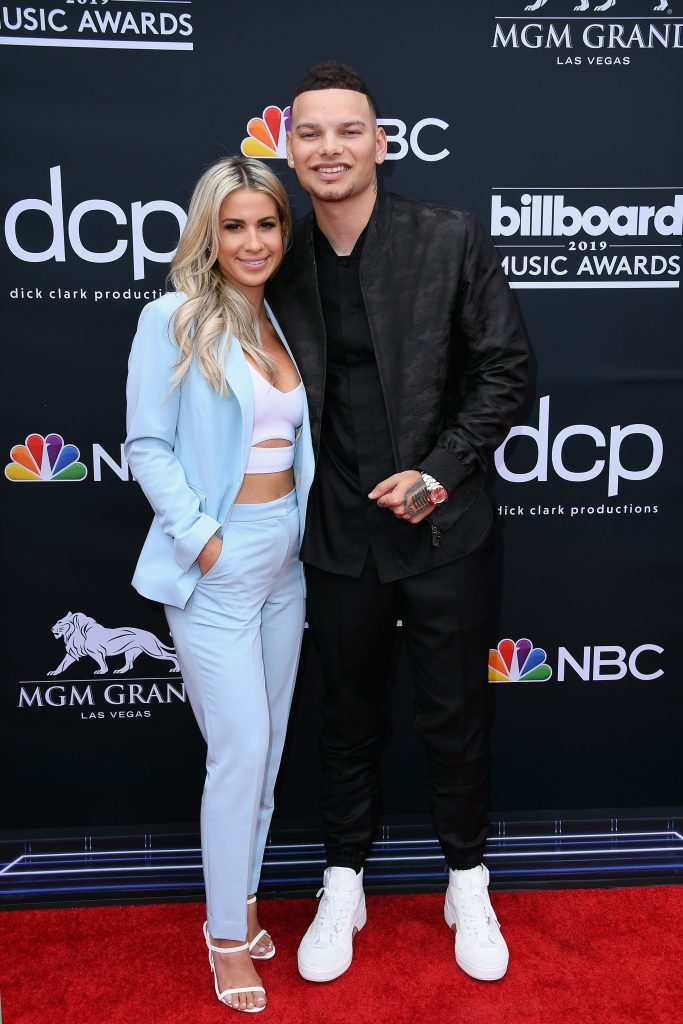 LAS VEGAS, NV - MAY 01: (L-R) Katelyn Jae and Kane Brown attend the 2019 Billboard Music Awards at MGM Grand Garden Arena on May 1, 2019 in Las Vegas, Nevada. (Photo by Steve Granitz/WireImage)