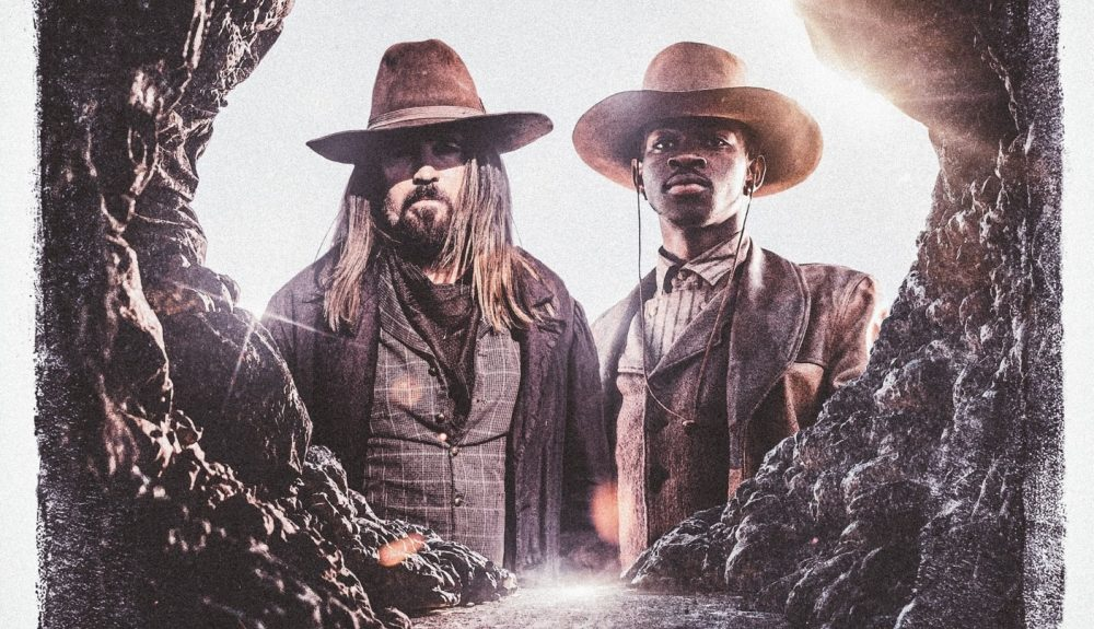 Lil Nas X and Billy Ray Cyrus Time Travel in 'Old Town Road' Music Video