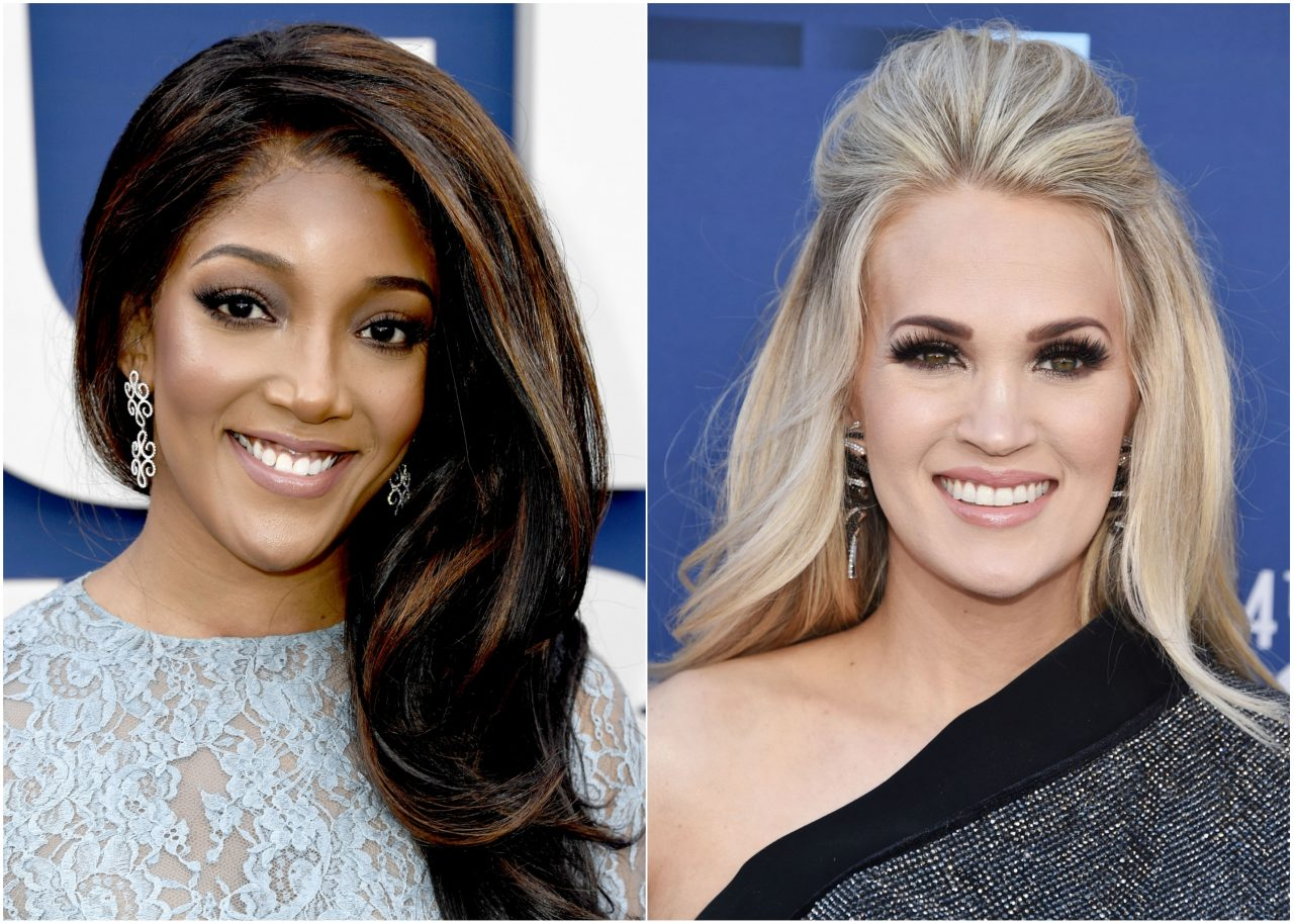 Mickey Guyton Says Carrie Underwood Prayed Her Through the ACM Awards