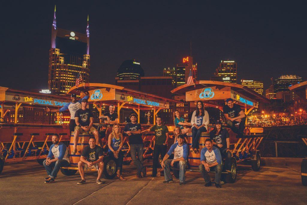 Pedal Tavern; Photo courtesy of Pedal Tavern