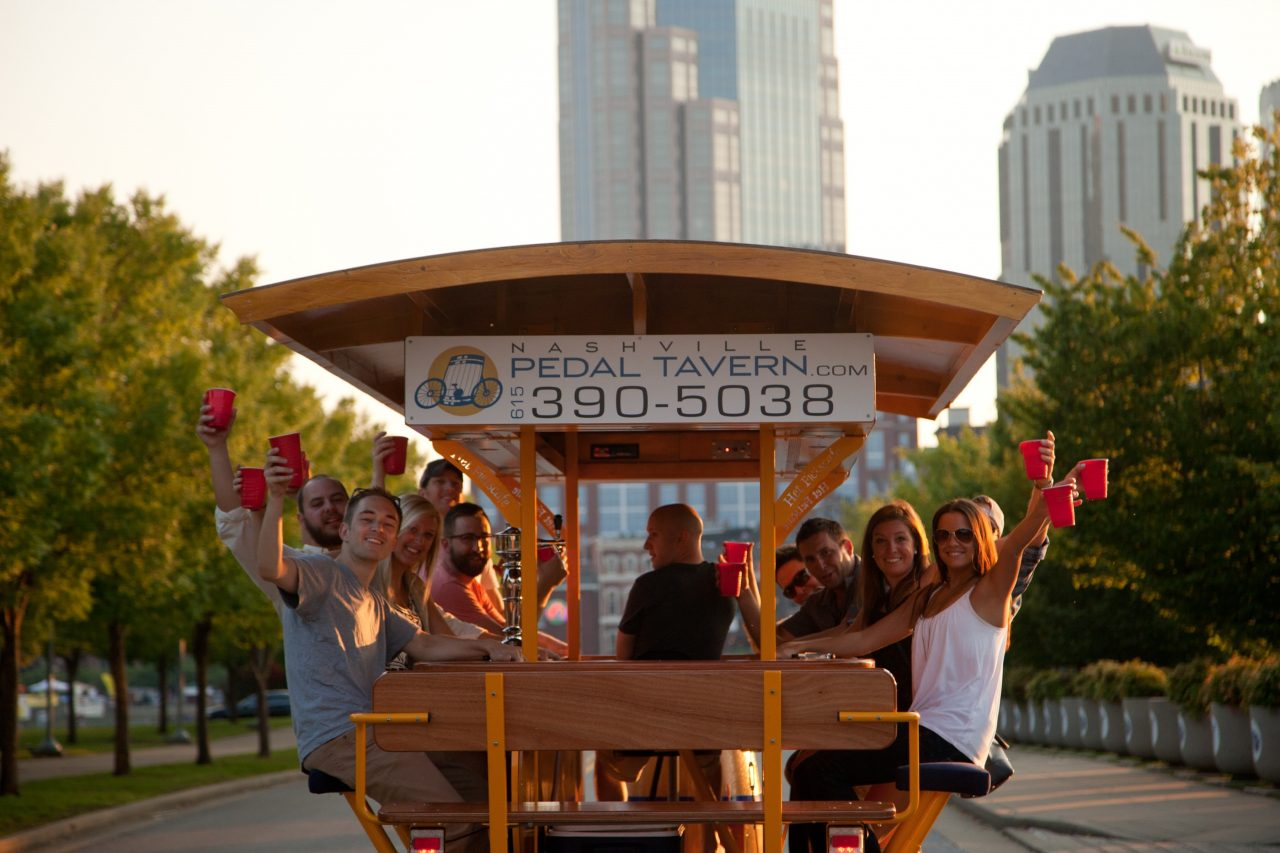 Dear Nashville, Don't Hate Me Just Because I Drive a Pedal Tavern