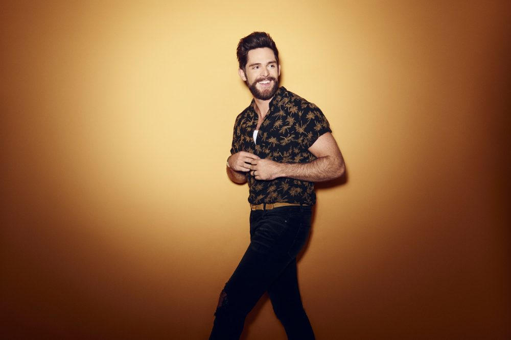 Thomas Rhett Makes History With 'Center Point Road' Album Debut