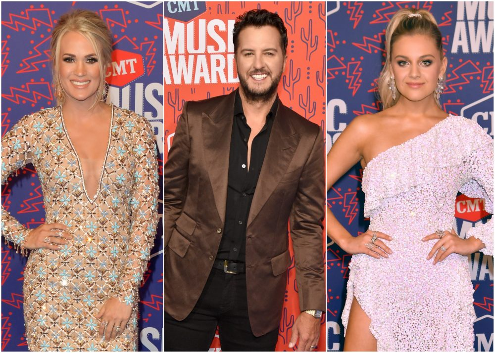 Carrie Underwood, Maren Morris, Luke Bryan + More Stun on 2019 CMT Awards Red Carpet
