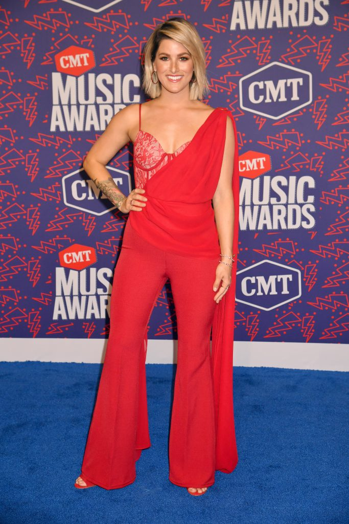NASHVILLE, TENNESSEE - JUNE 05: Cassadee Popeattends the 2019 CMT Music Awards - Arrivals at Bridgestone Arena on June 05, 2019 in Nashville, Tennessee. (Photo by Jeff Kravitz/FilmMagic)