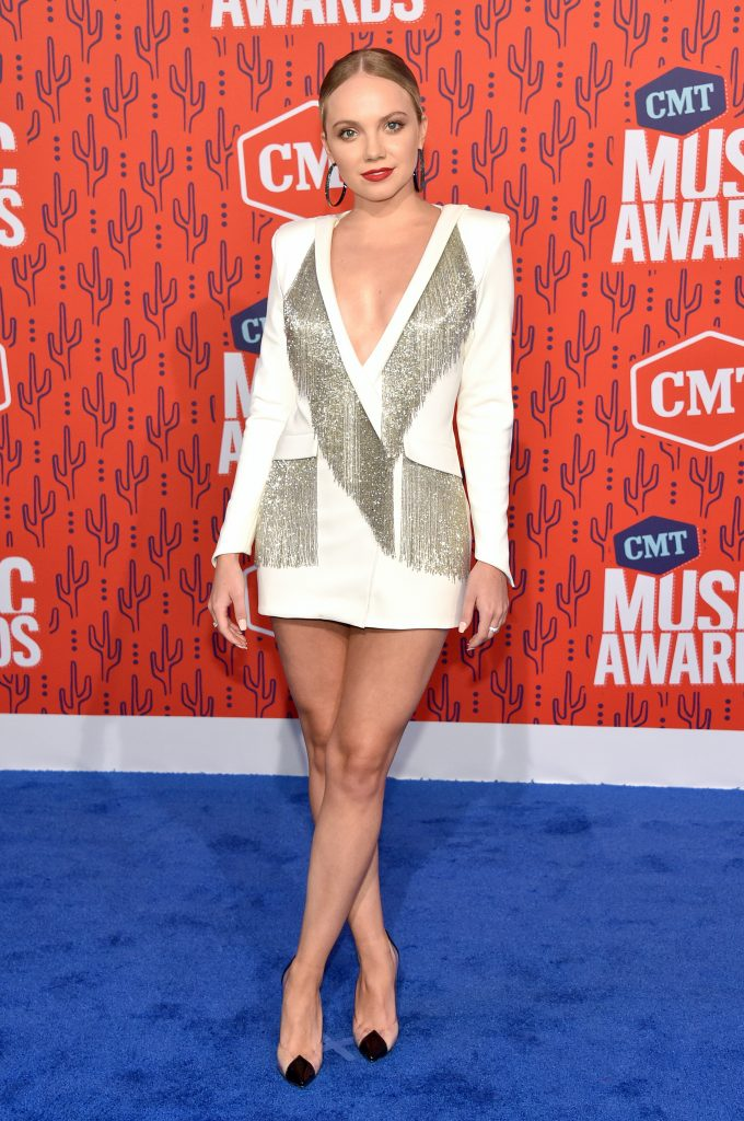 NASHVILLE, TENNESSEE - JUNE 05: Danielle Bradbery attends the 2019 CMT Music Awards at Bridgestone Arena on June 05, 2019 in Nashville, Tennessee. (Photo by John Shearer/WireImage,)