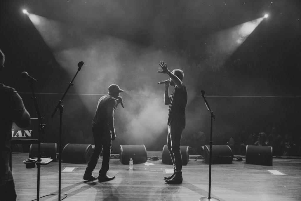 Darius Rucker and Charles Kelley; Photo credit: Katie Kauss