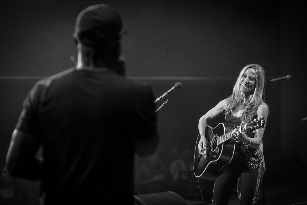 Darius Rucker and Sheryl Crow; Photo credit: Keith Griner